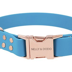 lagoon blue dog collar