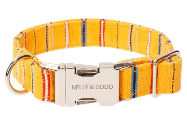 dog collar muhu yellow