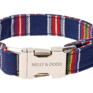 nelly&dodo dog collar rapla blue