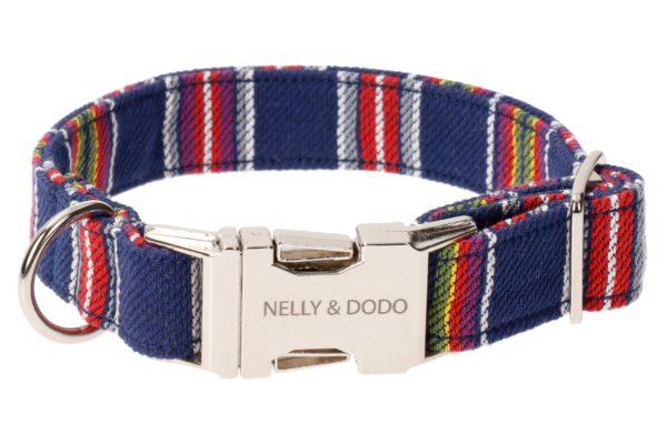 nelly&dodo dog collar rapla blue