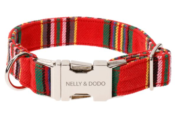 dog collar viljandi red